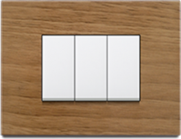 Wooden Irony - Promot Switches - Glamour is now centered on your wall