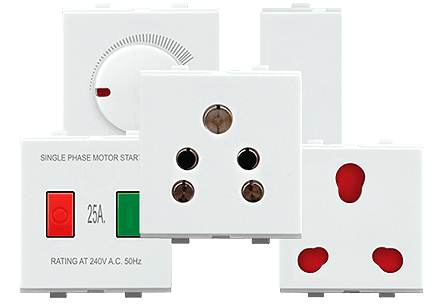 Metrix Accessories - Promot Switches - Glamour is now centered on your wall