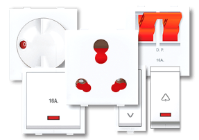 Modular Accessories - Promot Switches - Glamour is now centered on your wall