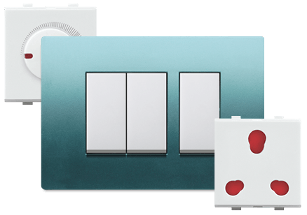 Metrix Range - Promot Switches - Glamour is now centered on your wall