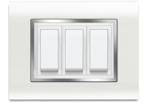 P10 Chrome - Promot Switches - Glamour is now centered on your wall