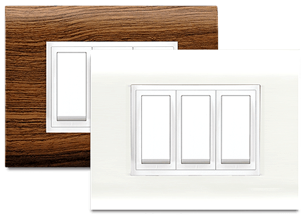 Promot Modular - Promot Switches - Glamour is now centered on your wall